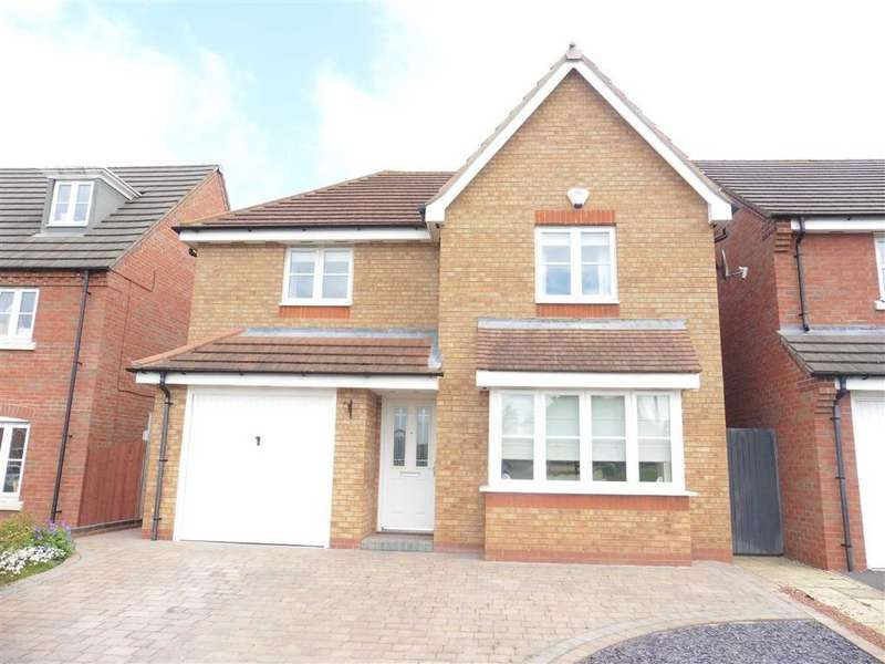 4 Bedrooms Detached House for sale in Brindley Close, Stoney Stanton