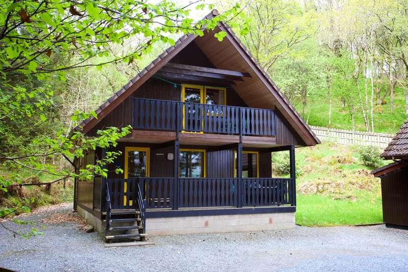 4 Bedrooms Lodge Character Property for sale in Sitella Lodge, Loch Tay Highland Lodges, By Killin FK21 8TY