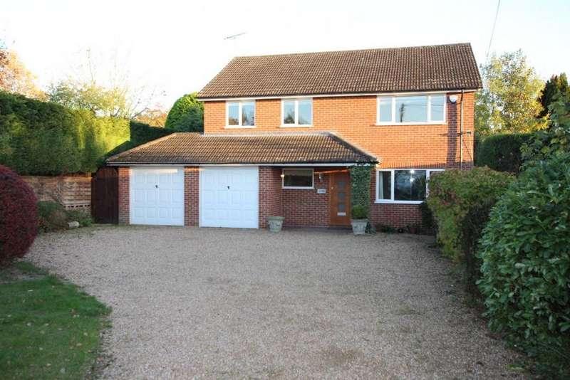 4 Bedrooms Detached House for sale in Barkham Road, Wokingham, RG41