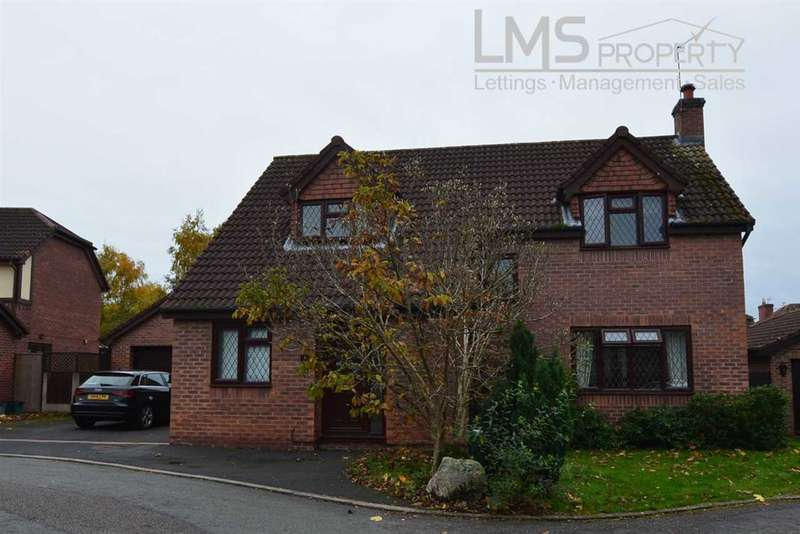 4 Bedrooms Detached House for sale in Chesterfield Close, Winsford