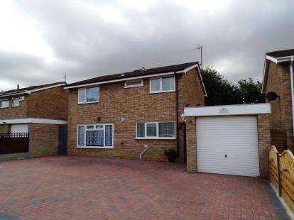 4 Bedrooms Detached House for sale in Laurel Walk, Kempston, Bedfordshire