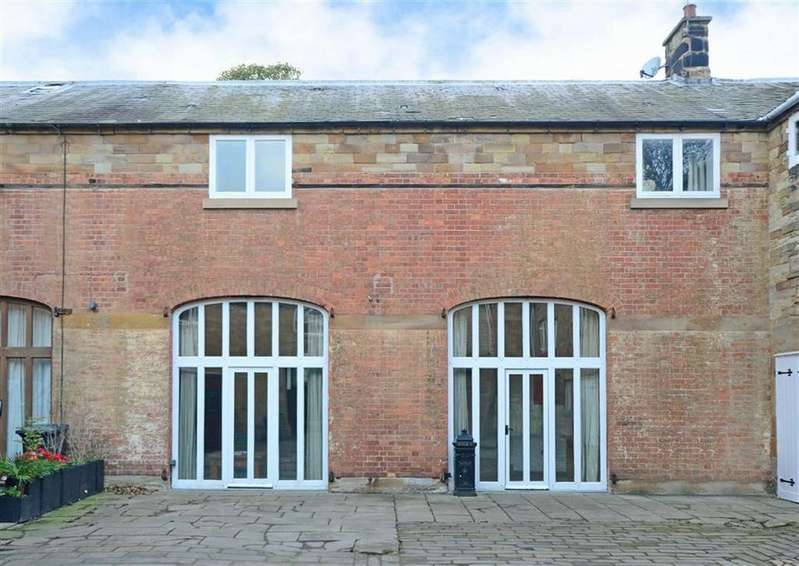 4 Bedrooms Terraced House for sale in The Coach House, Hall Drive, Sutton Scarsdale, Chesterfield, Derbyshire, S44