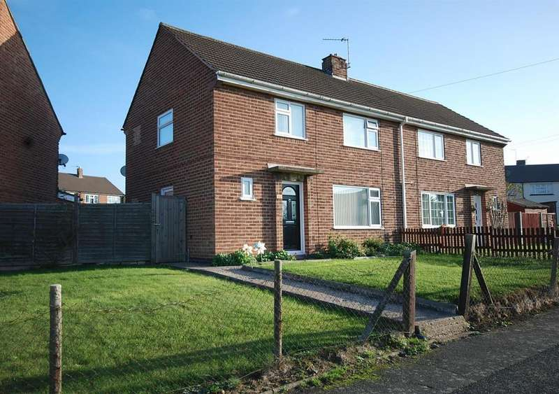 3 Bedrooms Semi Detached House for sale in Hartopp Road, Melton Mowbray