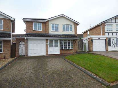 4 Bedrooms Detached House for sale in Hambleton Road, The Squirrels, Halesowen, West Midlands