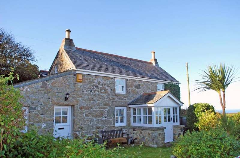3 Bedrooms Detached House for sale in Zennor, St Ives, West Cornwall
