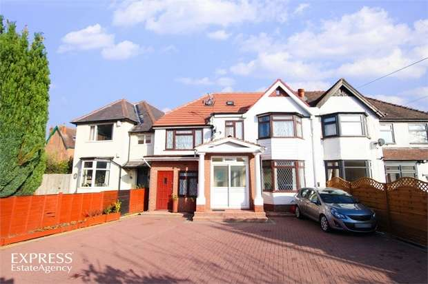 7 Bedrooms Semi Detached House for sale in Springfield Road, Kings Heath, Birmingham, West Midlands
