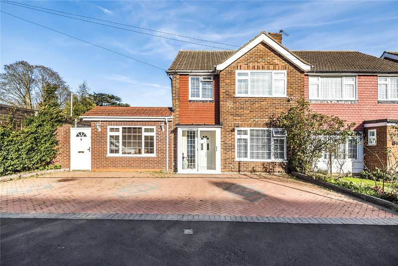 5 Bedrooms Semi Detached House for sale in Gilfrid Close, Hillingdon, Middlesex, UB8