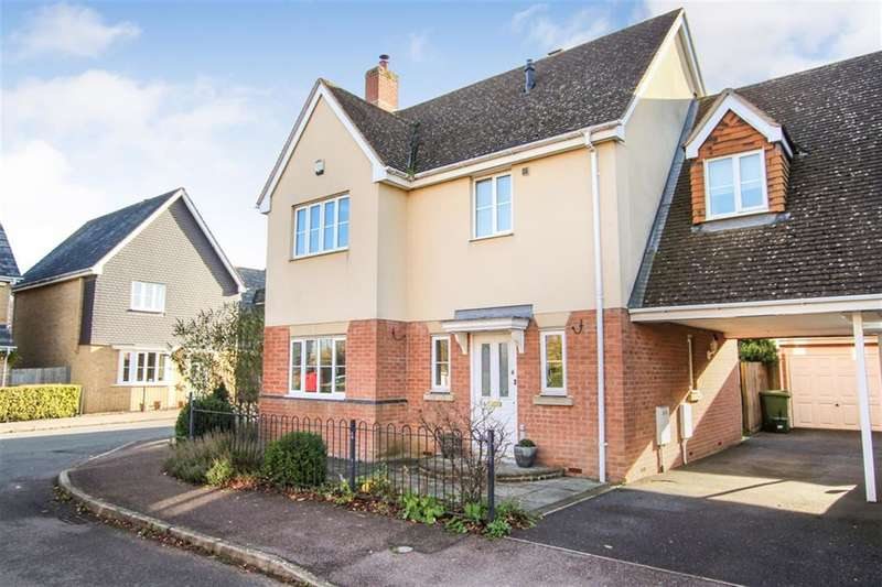 4 Bedrooms Link Detached House for sale in FOUR BEDROOM DETACHED FAMILY HOME - CASTLEMEAD DEVELOPMENT in PITSTONE