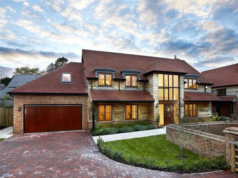 5 Bedrooms Detached House for sale in Colemore House, Medstead, Nr Alton, Hampshire