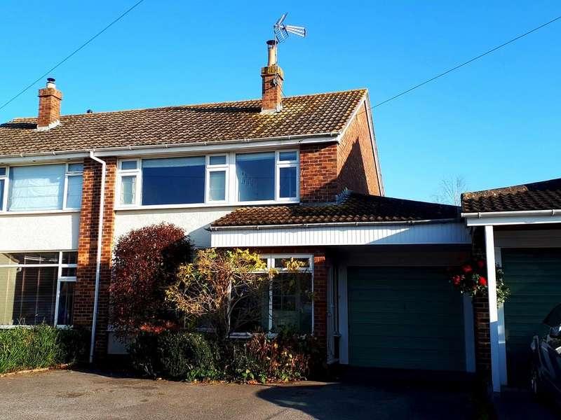 3 Bedrooms Semi Detached House for sale in Desirable road in Congresbury