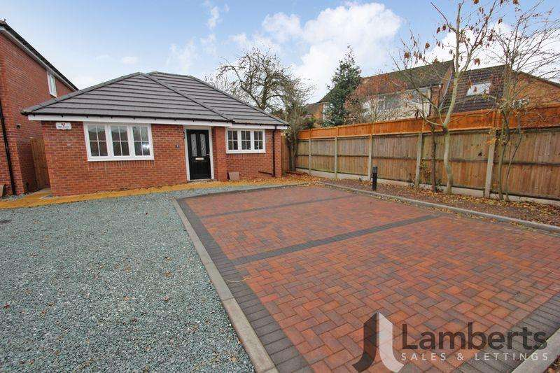 2 Bedrooms Detached Bungalow for sale in Railway Close, Studley
