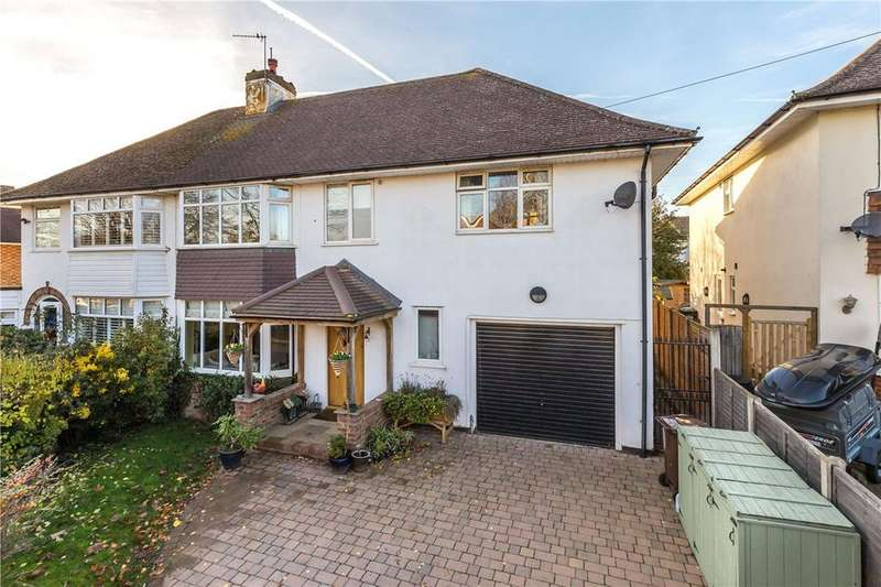 5 Bedrooms Semi Detached House for sale in Brache Close, Redbourn, St. Albans, Hertfordshire