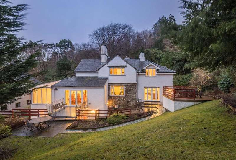 5 Bedrooms Detached House for sale in Clover Nook, Helm Road, Bowness-on-Windermere, LA23 3AA