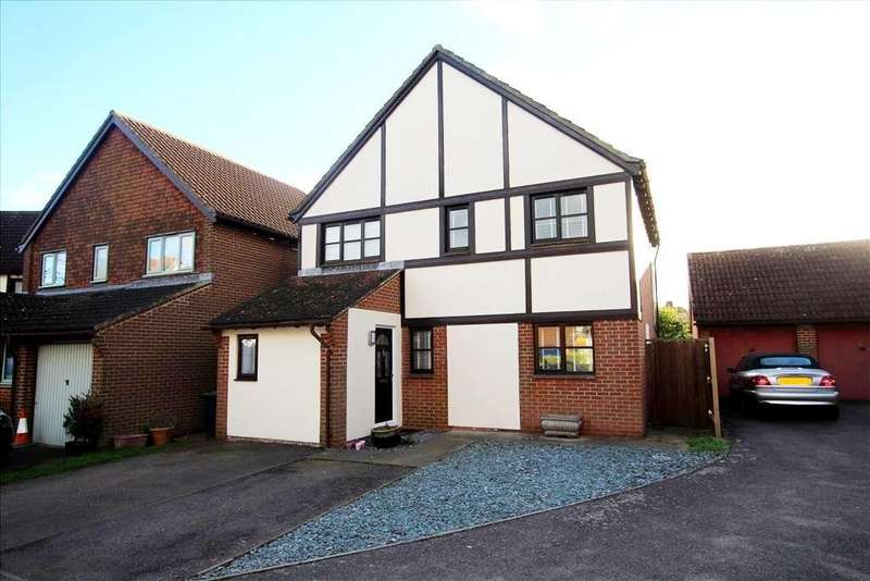 4 Bedrooms Detached House for sale in Jennings Close, Potton, SG19