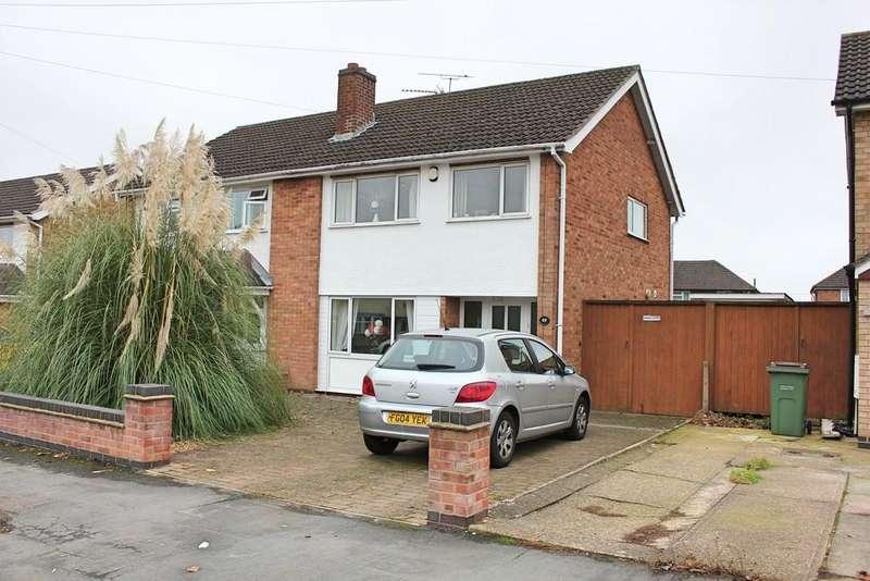 3 Bedrooms Semi Detached House for sale in Dorset Avenue, Wigston