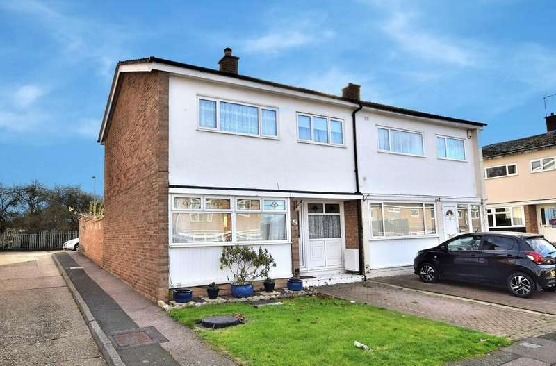 3 Bedrooms Semi Detached House for sale in Church Leys, Harlow