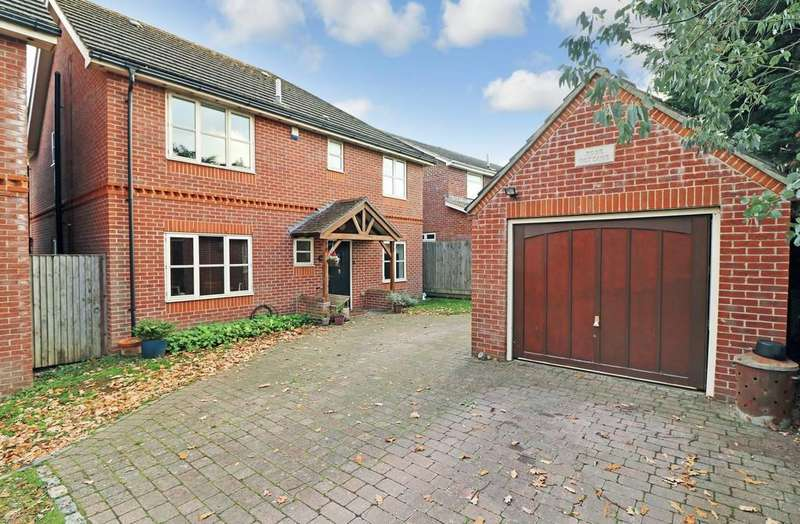 4 Bedrooms Detached House for sale in Upper Northam Road, Hedge End