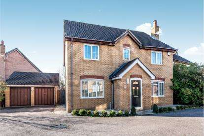 4 Bedrooms Detached House for sale in Embla Close, Bedford, Bedfordshire, .