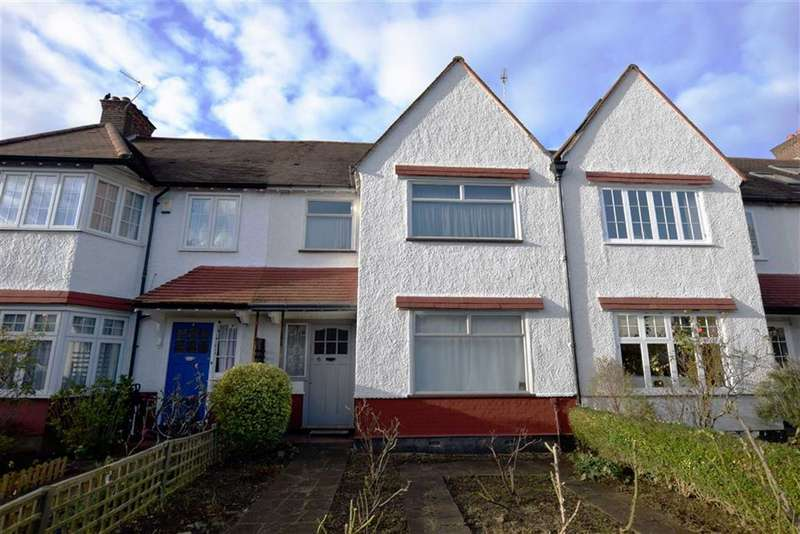 3 Bedrooms Terraced House for sale in Claigmar Gardens, Finchley, London, N3