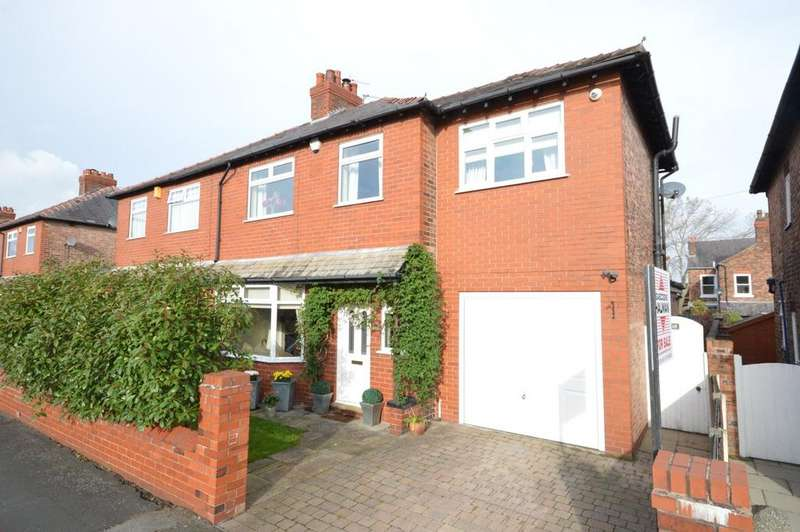 4 Bedrooms Semi Detached House for sale in Worsley Road, Walton, Warrington