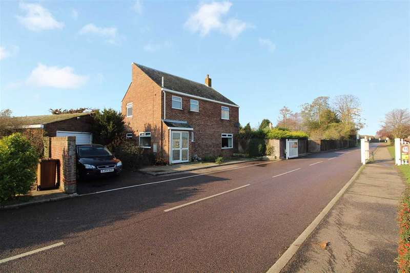 3 Bedrooms Detached House for sale in Holbrook Road, Stutton, Ipswich, Suffolk
