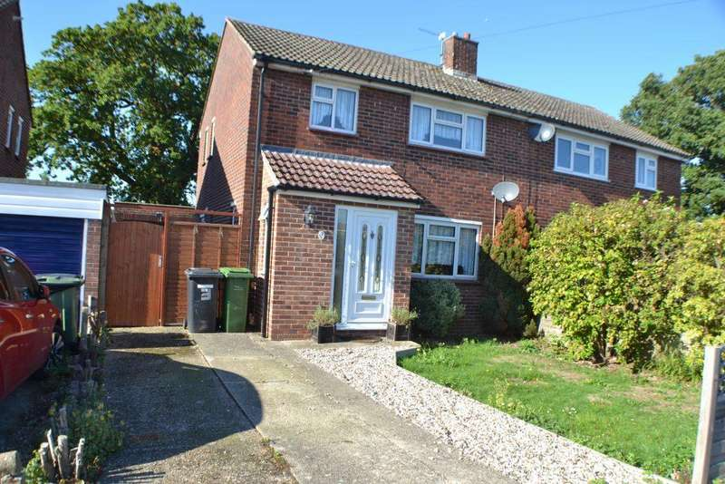 3 Bedrooms Semi Detached House for sale in Beech Walk Thatcham