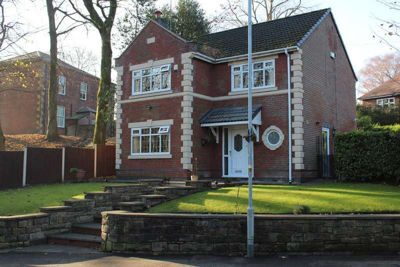 4 Bedrooms Detached House for sale in Oulder Hill Drive, Bamford, Rochdale