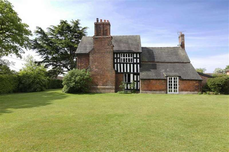 5 Bedrooms Country House Character Property for sale in Hall Lane, Hankelow, Cheshire