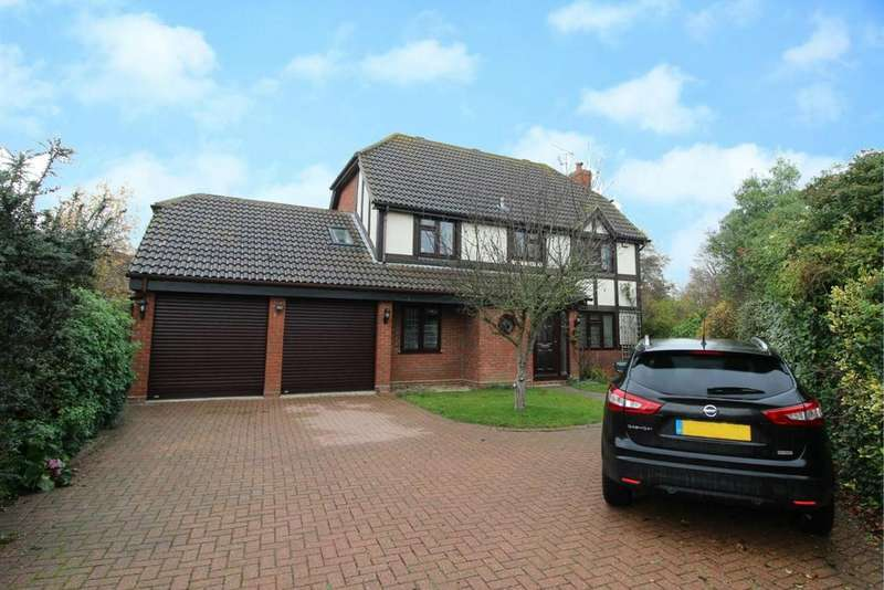 5 Bedrooms Detached House for sale in Hawthorn Road, Hatfield Peverel, Chelmsford, CM3