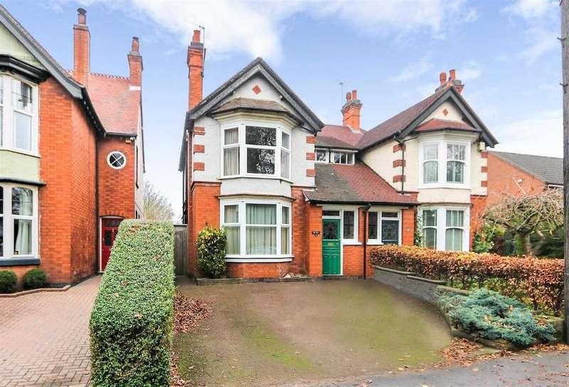 3 Bedrooms Semi Detached House for sale in Nottingham Road, Ashby-De-La-Zouch, LE65 1DJ