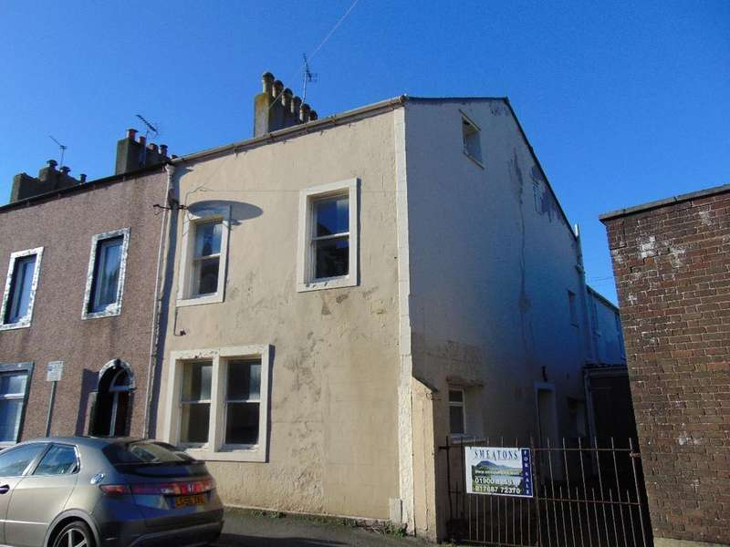5 Bedrooms End Of Terrace House for sale in 14 Belle Isle Street, Workington