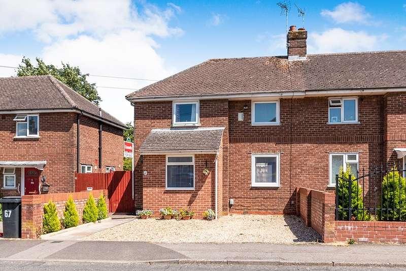 3 Bedrooms Semi Detached House for sale in Sandys Road, Basingstoke, RG22