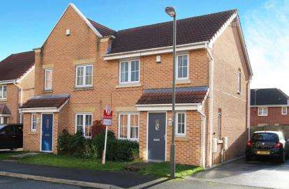 3 Bedrooms Semi Detached House for sale in Langford Croft, Chesterfield, Derbyshire