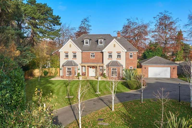 5 Bedrooms Detached House for sale in Puligny House, 29 Donnerville Gardens, Admaston, Telford TF5 0DE