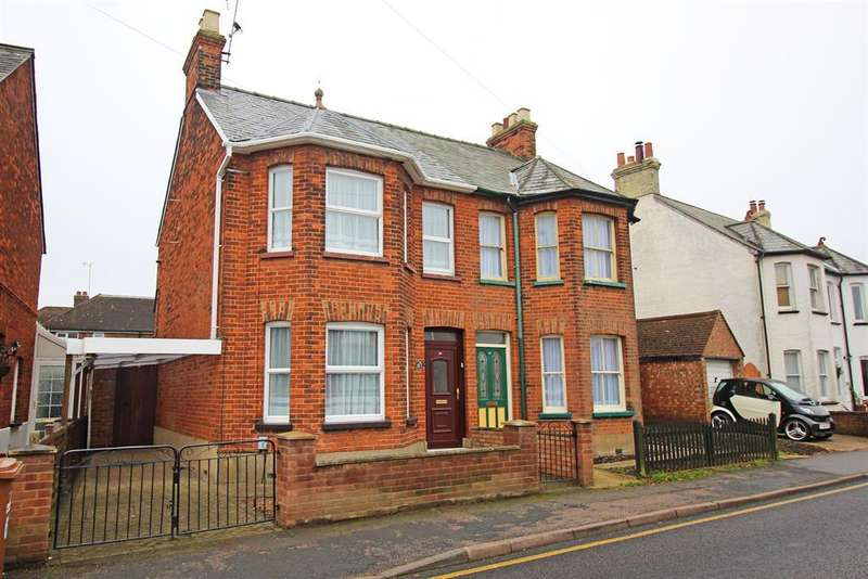 3 Bedrooms Semi Detached House for sale in Fishers Green Road, Stevenage, SG1 2PL