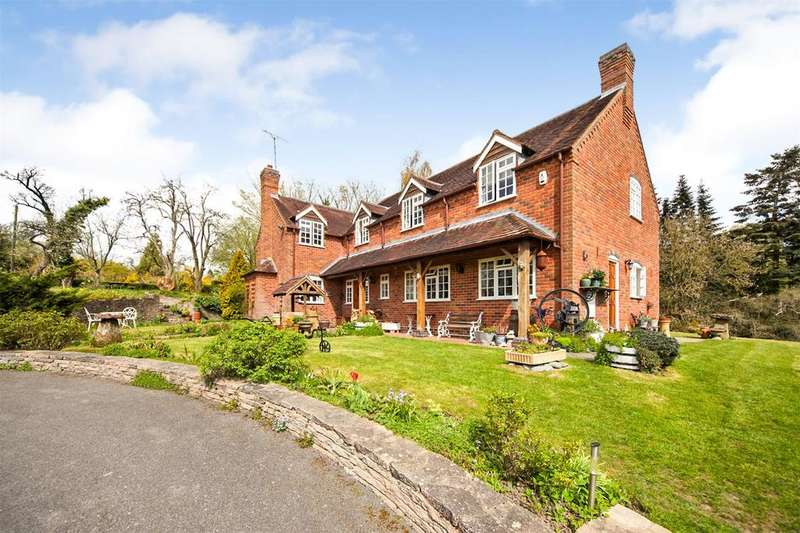 5 Bedrooms Detached House for sale in Feckenham Road, Hunt End, Redditch, Worcestershire, B97