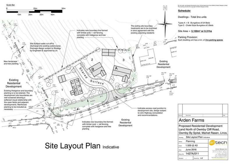 Land Commercial for sale in Building Plots, Owmby Cliff Road, Owmby-by-Spital, Market Rasen, LN8