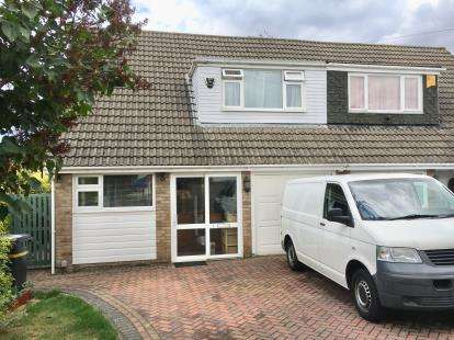 3 Bedrooms Semi Detached House for sale in Goodwin Drive, Whitchurch, Bristol