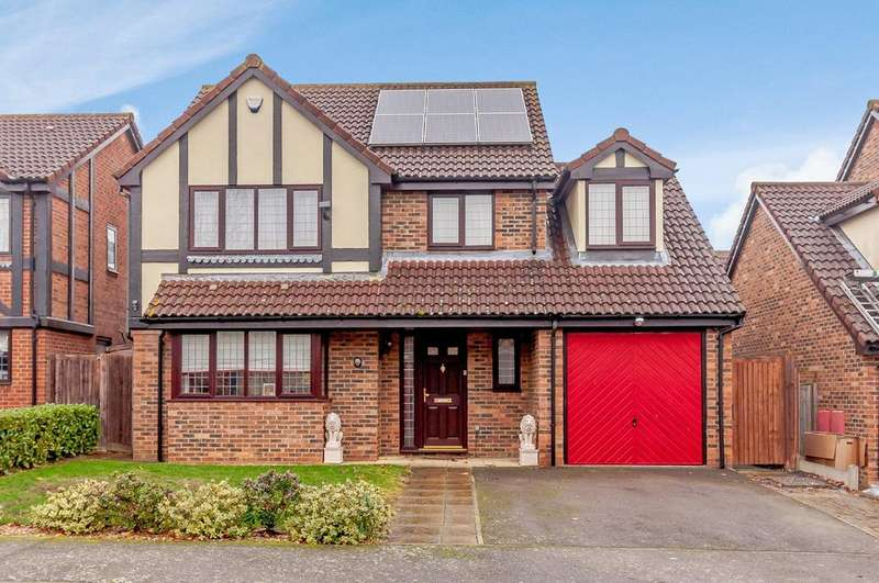 4 Bedrooms Detached House for sale in Plum Tree Road, Lower Stondon, Henlow, SG16