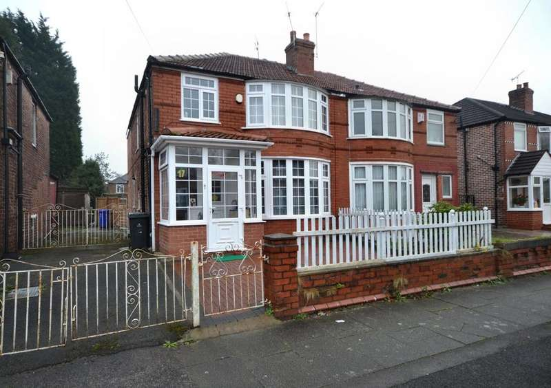 3 Bedrooms Semi Detached House for sale in Ashdene Road, Withington