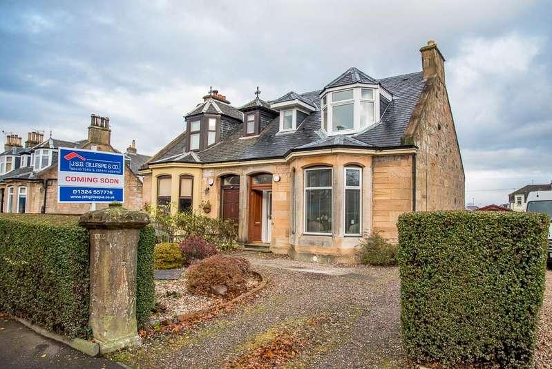 4 Bedrooms Semi-detached Villa House for sale in 139 Bo'ness Road, Grangemouth, Falkirk, Stirlingshire, FK3 9BS