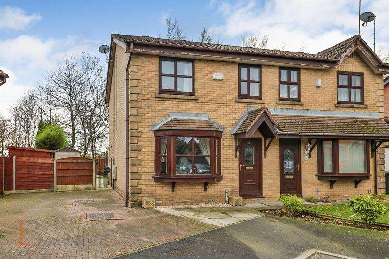 3 Bedrooms Semi Detached House for sale in 16 Martins Field, Norden, Rochdale