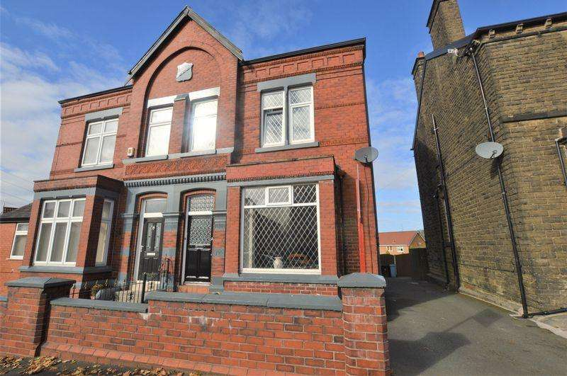 4 Bedrooms Semi Detached House for sale in Huddersfield Road, Stalybridge