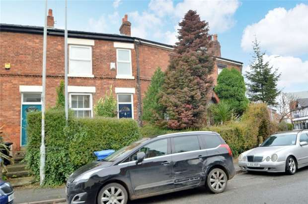 2 Bedrooms Terraced House for sale in Adswood Lane East, Cale Green, Stockport, Cheshire