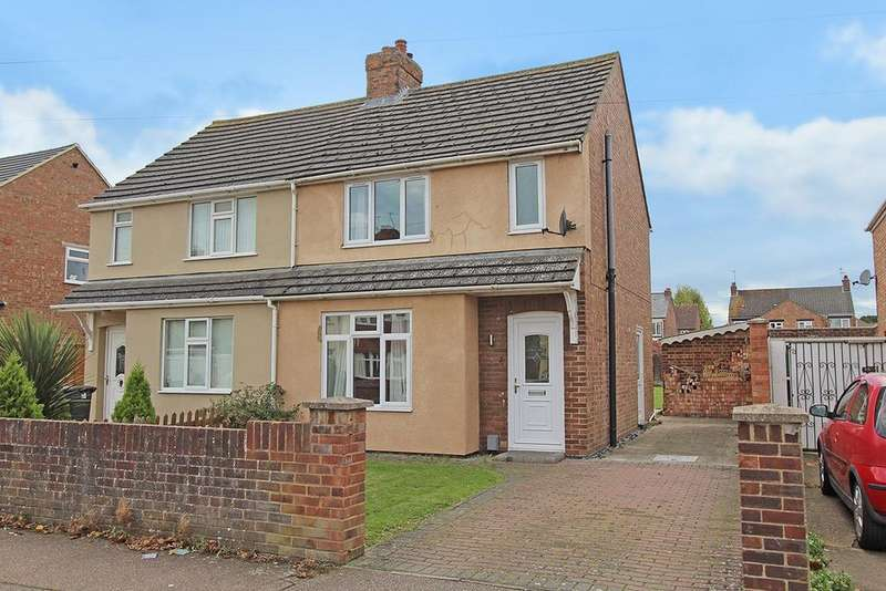 3 Bedrooms Semi Detached House for sale in Eaton Road, Kempston, Bedford, MK42