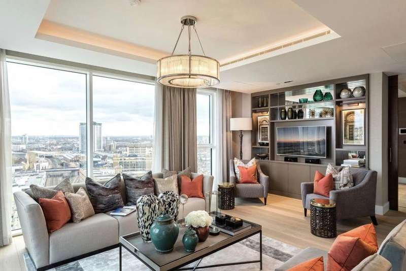 4 Bedrooms Apartment Flat for sale in Mowbray House, Kensington