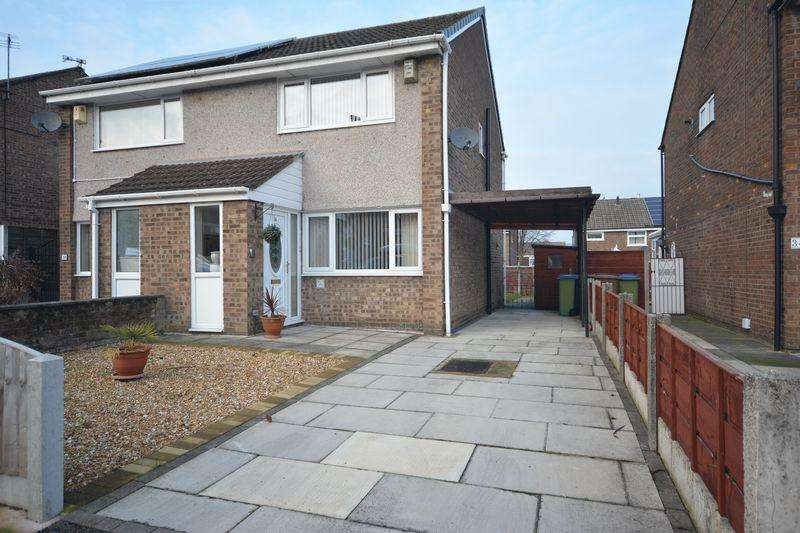 2 Bedrooms Semi Detached House for sale in Severn Road, Heywood