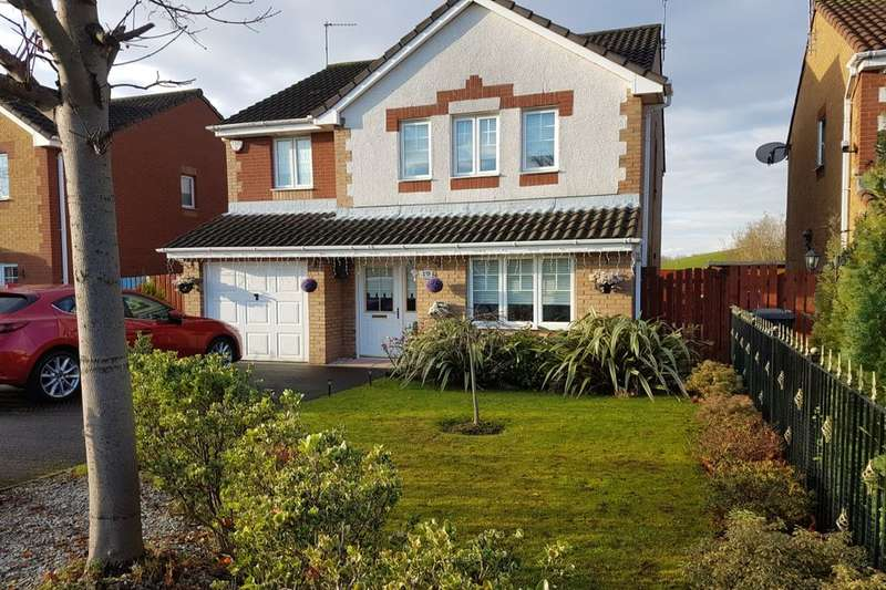 4 Bedrooms Detached House for sale in South Line View, Wishaw, ML2