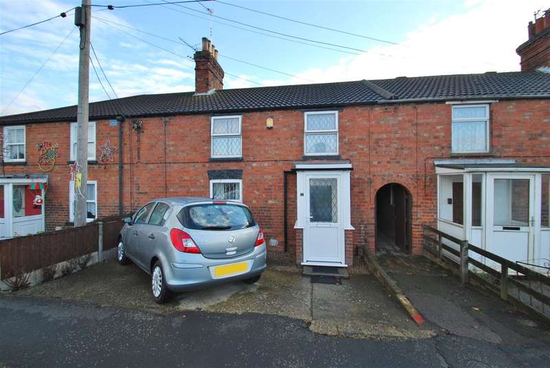 3 Bedrooms Terraced House for sale in New England Cottages, Croft Bank, Wainfleet