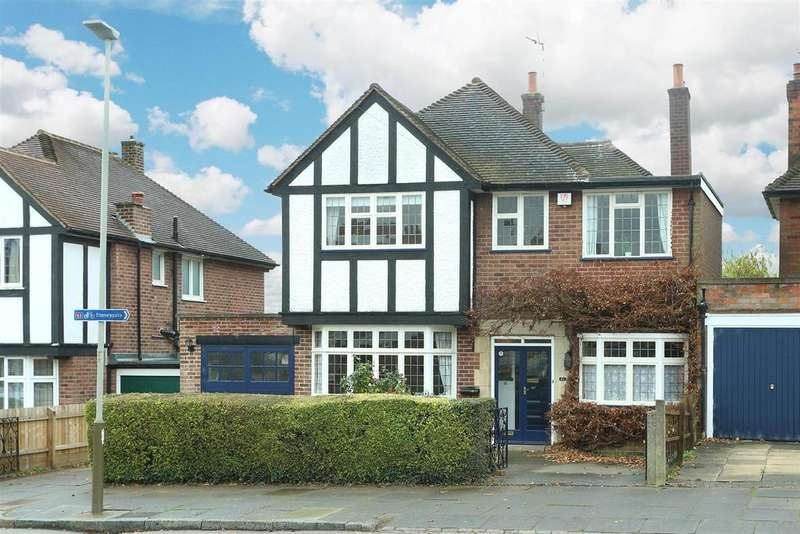 5 Bedrooms Detached House for sale in Romway Road, Evington, Leicester